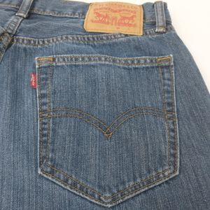 Levi's 559 Relaxed Straight Medium Wash Jeans